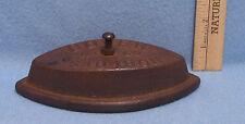 Vintage Antique Heavy Metal Dover Flat Iron No 62 Sad Iron Made in USA no Handle