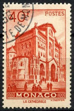 Monaco 1949-1959 SG#401, 40f The Cathedral Used #A84222
