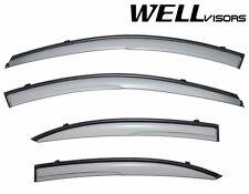 For 06-09 Kia Rio WellVisors Side Window Deflectors Visors Aerodyn Series