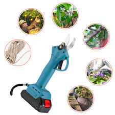 600w 18v 30mm Cordless Pruning Shears Blue with one battery