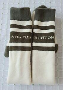 Burton Weekend Snowboard Socks Unisex Mens Womens Size Medium Large Warm Long