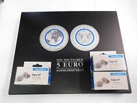 Münzkassette für 5 Euro Planet Erde + Klimazonen Tropische Zone inkl. 30 Kapseln