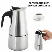 Stainless Steel 6 Cup Espresso Stove Top Coffee Maker Italian Percolator Pot