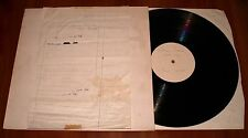 BOB DYLAN SLOW TRAIN COMING LP *RARE* TEST PRESSING VINYL ARCHIVE COPY CBS 1979