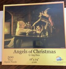 Sunsout Angels of Christmas 500 piece puzzle New