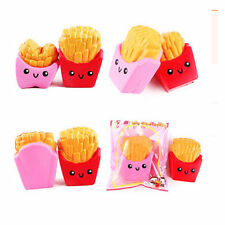 12cm Squishy kawaii french fries Cream Scented Squeeze Super Slow Rising Toy