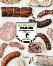 Sausage Making: The Definitive Guide with Recipes Book by Ryan Farr - H/C - NEW