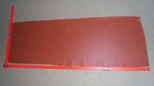 1 Haut, orange   ,Lederhaut,Lederreste,   Nr.  A16