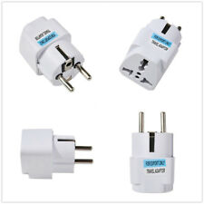 Home USA US UK AU To EU Europe Travel Charger Power Adapter Converter Wall Plug