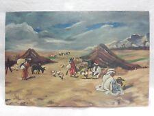 Dipinto soggetto orientalista cm 20x31 Antikidea