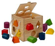 Eichhorn 100002092 - Steckwürfel aus Holz, 13-teilig   * NEU & OVP *