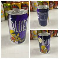 Collectible Can Of Lisa Simpson Blues Novelty Soda 1998 UK EMPTY Grape Cherry