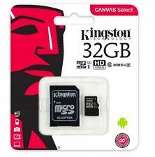 Kingston 32GB Micro SD Flash Memory Card SDC4 HC SDHC Class 10