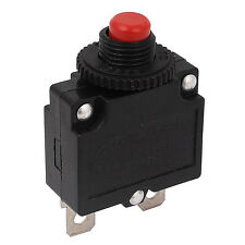 AC 125V/250V 15A Push Button Reset Circuit Breaker Overload Protector Red SR1G..
