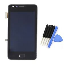 Full LCD Display Touch Glass Panel Digitizer +Frame For Samsung Galaxy S 2 i9100