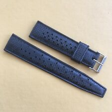 Vintage Original TROPIC Genuine Rubber Watch Strap. 22mm Straight Ends. NOS