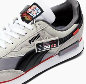 PUMA Future Rider NES Super Mario Nintendo Shoes - US size  8.5 - Brand New NWB