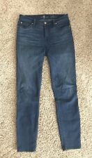 7 for all Mankind Gwenevere Ankle Skinny Jeans Size 28