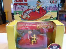 Polistil W8 Walt Disney L'Auto Di Archimede - Gyro Gearloose Car - Ultra RARE