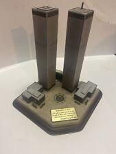 Danbury Mint 2001 Twin Towers Commemorative World Trade Center 911 Memorial Nyc