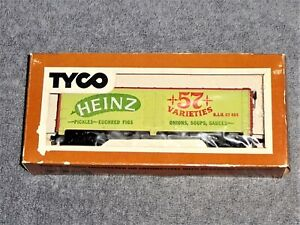TYCO HO Scale Billboard Reefer 355F Heinz 57 Varieties Unused In Original Box