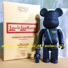 Bearbrick Medicom 2019 Aviakit Products ~ Lewis Leathers 100% 400% Be@rbrick