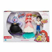 Disney Hasbro Little Mermaid Princess Poseable Comics Collection Ariel & Friends