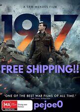 1917 DVD Reg 4 FREE POSTAGE (2020) Brand New! Sealed!