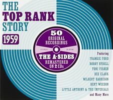 The Top Rank Story 1959 2-CD NEW SEALED Adam Faith/Crests/Craig Douglas/Emjays+