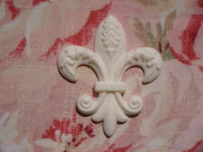 FANCY FLEUR DE LIS FURNITURE APPLIQUE ONLAY EMBELLISHMENT