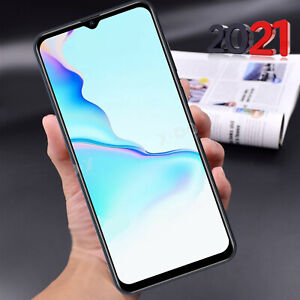 A72 Android Smartphone 6,6 Zoll Handy Ohne Vertrag Dual SIM Quad Core Phablet