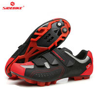 SIDEBIKE Mens MTB Mountain Bike Fitness Bicycle Cycling Shoes for Shimano SPD