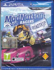 PSVita PlayStation Vita **MODNATION RACERS ROAD TRIP** nuovo sigillato italiano