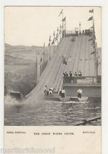Italian Exhibition Earls Court, The Great Water Chute Postcard, B490