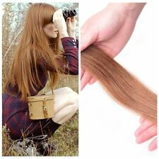10 pcs 16 to 24 Inch Seamless Tape in Remy Real Straight Human Hair Extensions
