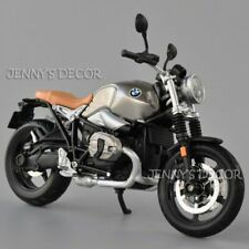 1:12 Maisto Diecast Motorcycle Model Toy BMW R nineT Scrambler Sport Bike