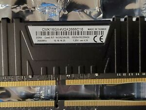 "48 Gig PC Ram (6x8GB) 4 X ""8G of Corsair Vengeance & 2 X ""8G Patriot Viper 4'"