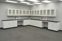 .Laboratory WALL Furniture 29' BASE 24' / Cabinets / Case Work / Benches / Tops-