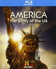 America - The Story Of The United States Blu-ray 3 Disc Set Donald Trump +more