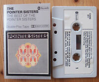THE POINTER SISTERS - BEST OF (ABC CABD611) 1976 UK CASSETTE COMPILATION SOUL