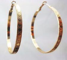 Medium Hoop Gold Tone Earrings by Accessorize
