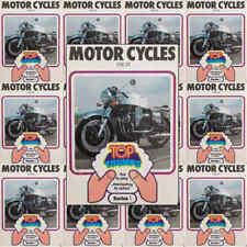 Top Trumps Single Card Motor Cycles Bikes Dubreq Series 1 - Various (FB3)