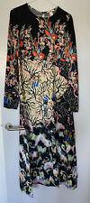 Blogger Fave, Rare, Cult H&M Print Painted Bird Print Clash Dress, Size 12