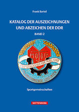 Katalog der Auszeichnungen und Abzeichen der DDR FDJ Sportgemeinschaften Buch 2