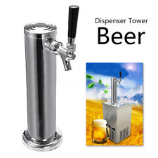 Stainless Steel Juice Beer Draft Single Dispenser Faucet Tap Drink Tower Bar