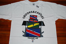 NEW Crooks and Castles Trunk Show Thuxury Life Graphic T-shirt (Large)