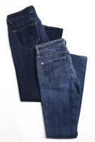 Genetic Denim DL1961 Womens The Shane Jeans Blue Cotton Size 27 28 Lot 2