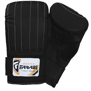 Boxing punch bag mitt gloves punching boxing gloves mma training  S - M - L - XL
