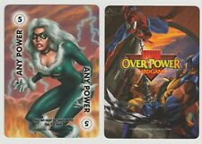 X Men MARVEL OVER POWER CARD GAME PROMO ANY POWER 5