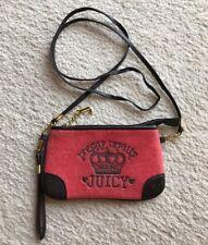 Juicy Couture Velour Wristlet Cross Body Shoulder Bag